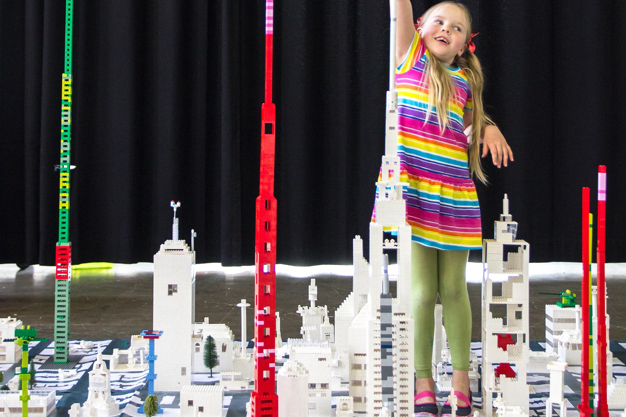 Lego Tower Workshop